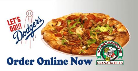 Go Dodgers – Get Pizza
