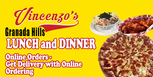 Lunch and Dinner Delivery | Vincenzo's Granada Hills