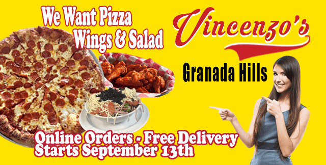 FREE DELIVERY Coming Soon! Pizza – Wings – Salad