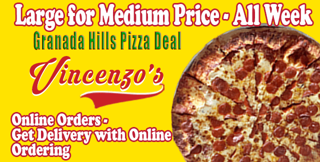 Back This Week | Pizza Deal | Vincenzo's Granada Hills